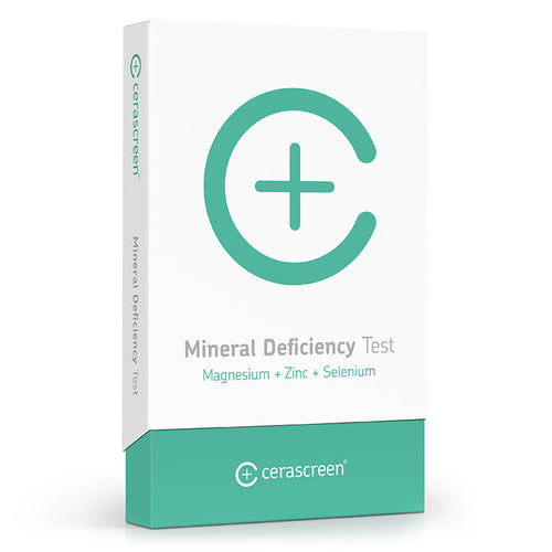 Mineral Deficiency Test - Blood test kit | cerascreen