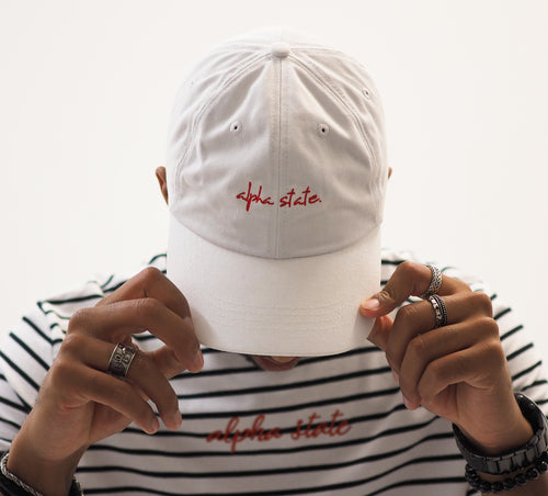 SIGNATURE CAP - WHITE