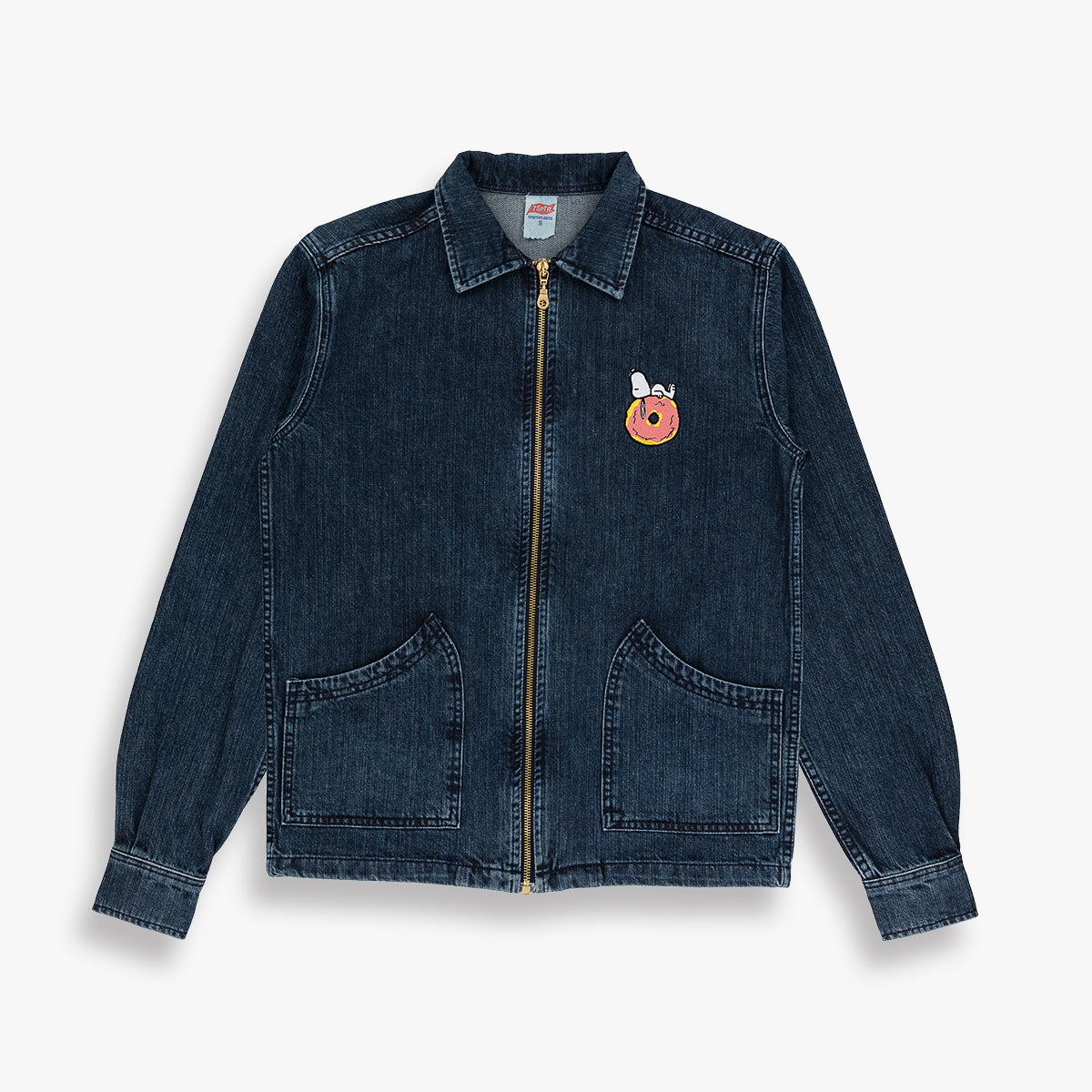 SNOOPY DONUT DENIM JACKET