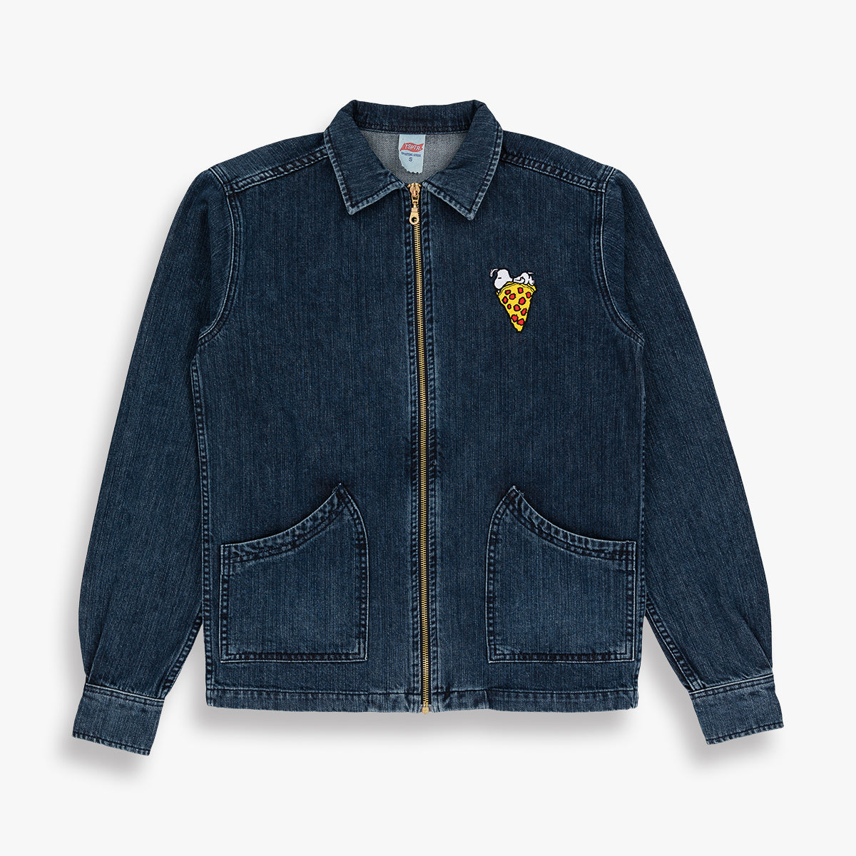 SNOOPY PIZZA DENIM JACKET
