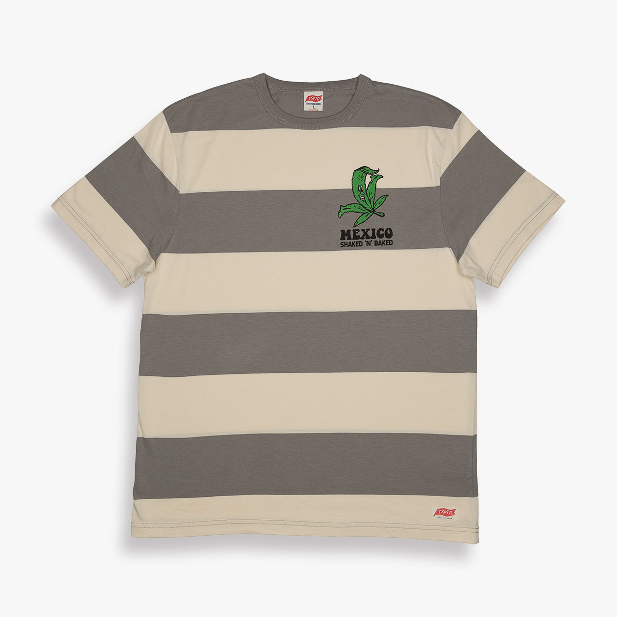 SHAKED N BAKED BORDER TEE