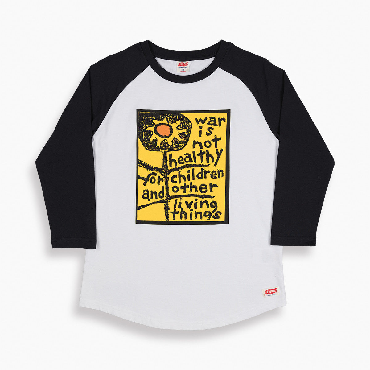 War is Not Healthy Raglan Jersey