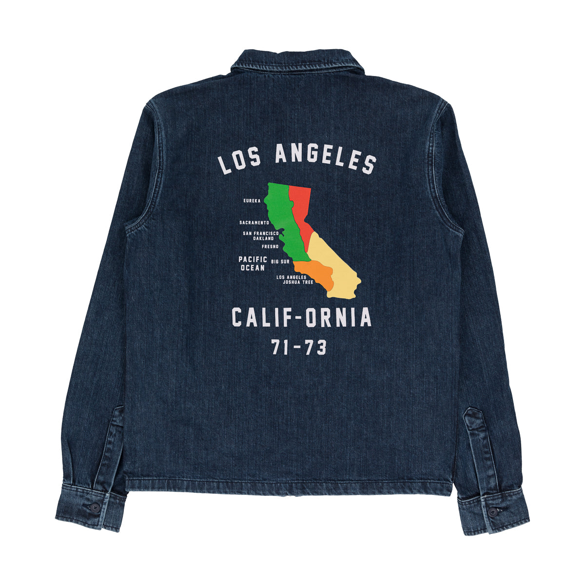 CALI-TOUR DENIM JACKET