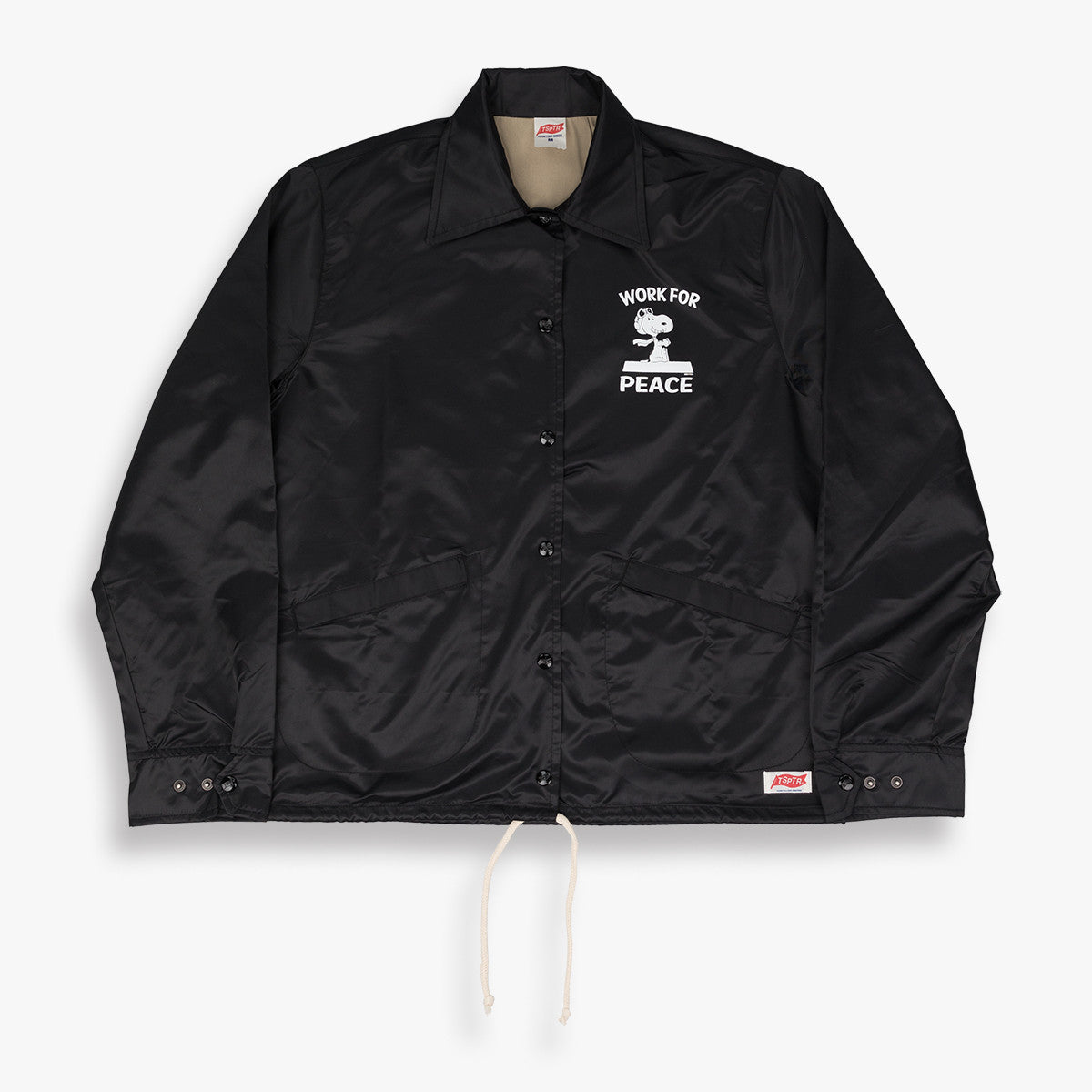 Snoopy Work for Peace Coach Jacket