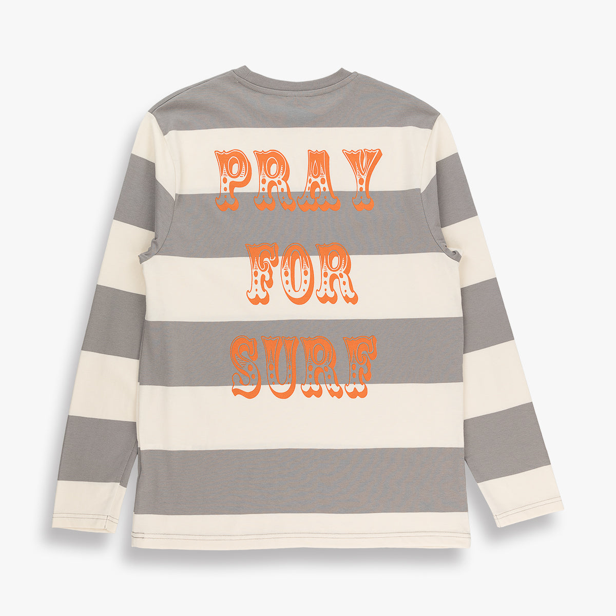 PRAY FOR SURF BORDER LS TEE