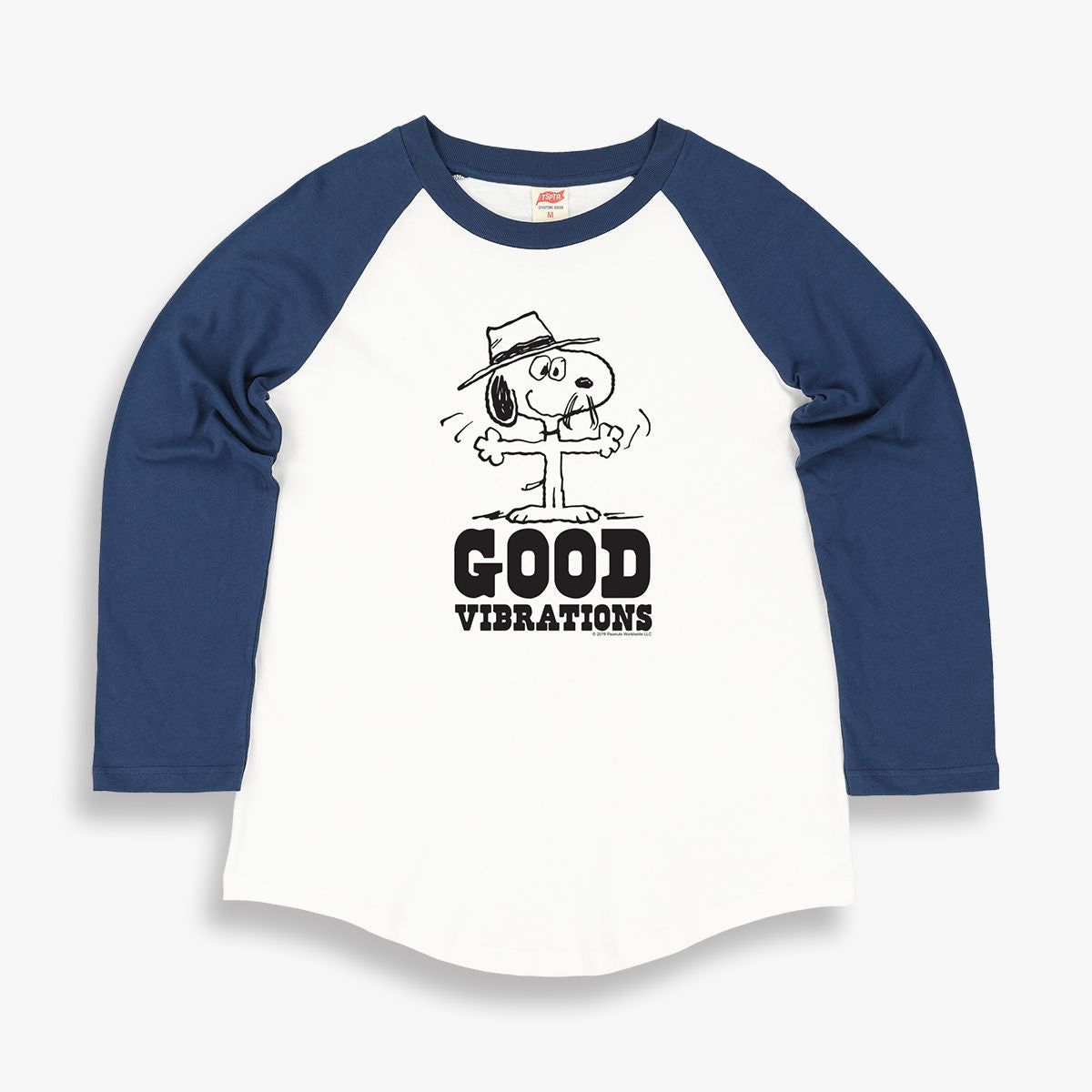 SPIKE GOOD VIBRATIONS RAGLAN TEE