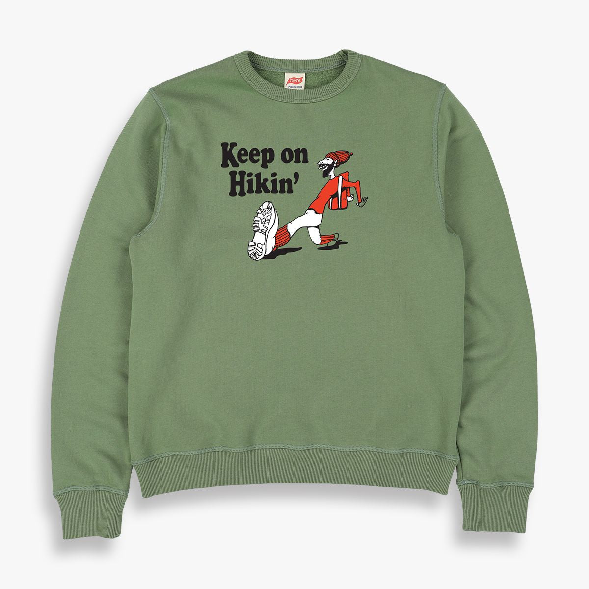 KEEP ON HIKIN' SWEATSHIRT