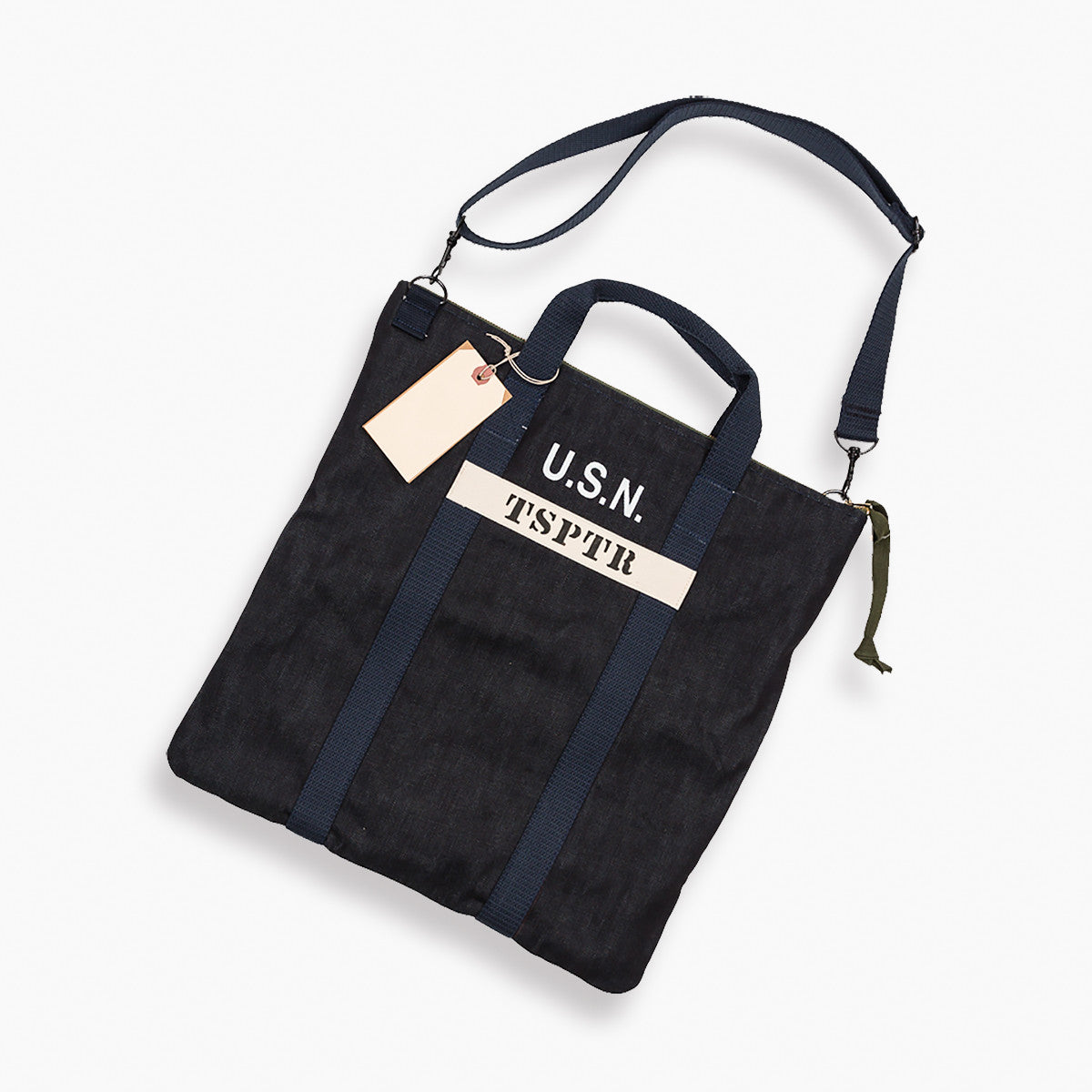 Denim US Navy Bag