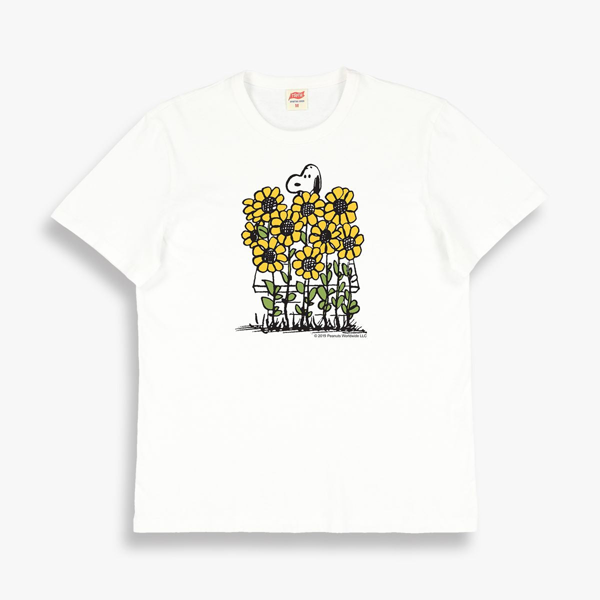 SNOOPY SUNFLOWERS TEE