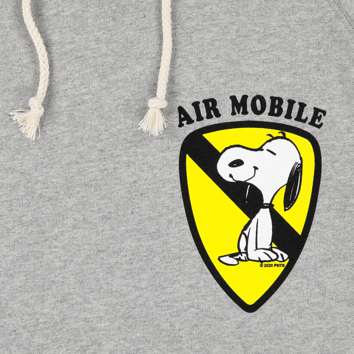 SNOOPY AIRMOBILE HOODED SWEATSHIRT