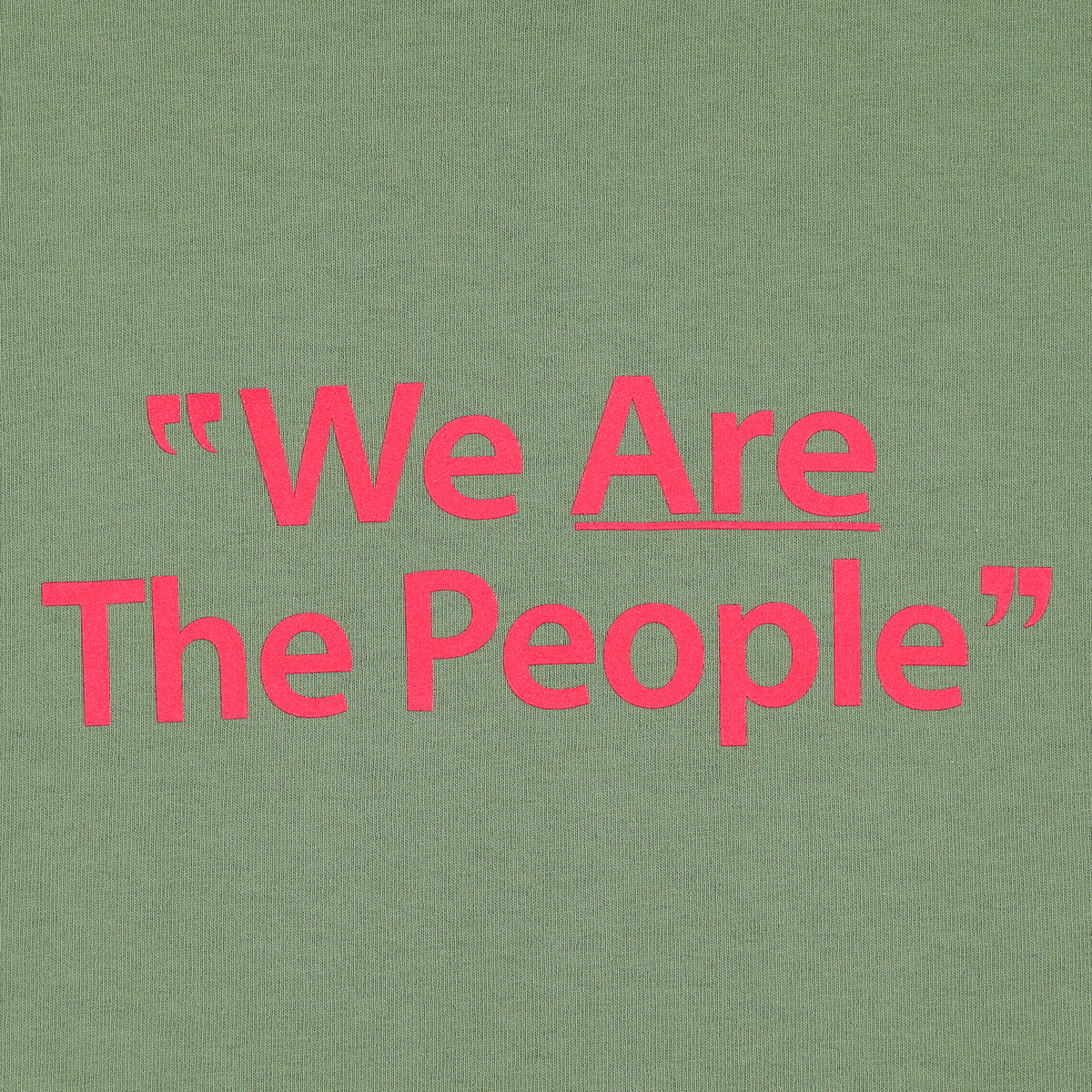 WE ARE THE PEOPLE TEE
