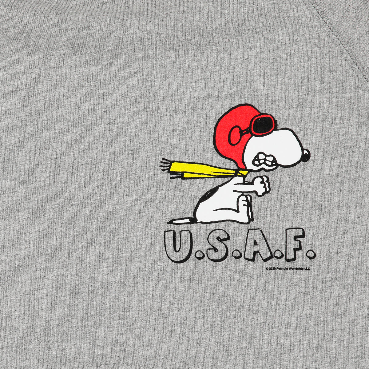 SNOOPY USAF HOODED SWEATSHIRT