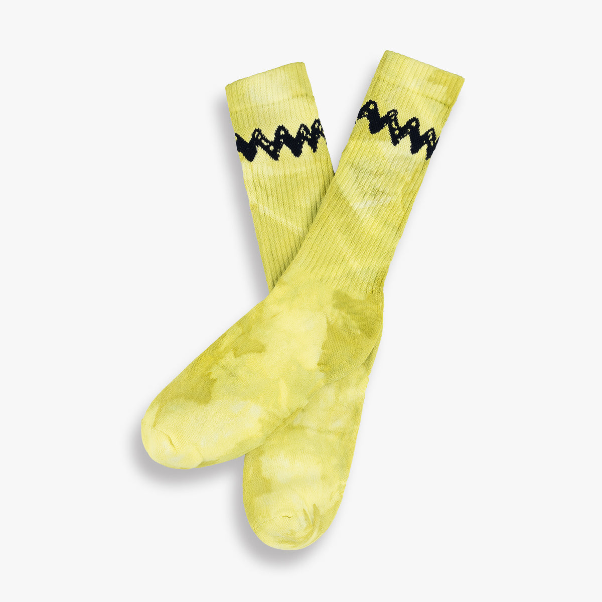 Tie Dye Charlie Brown Mens Socks