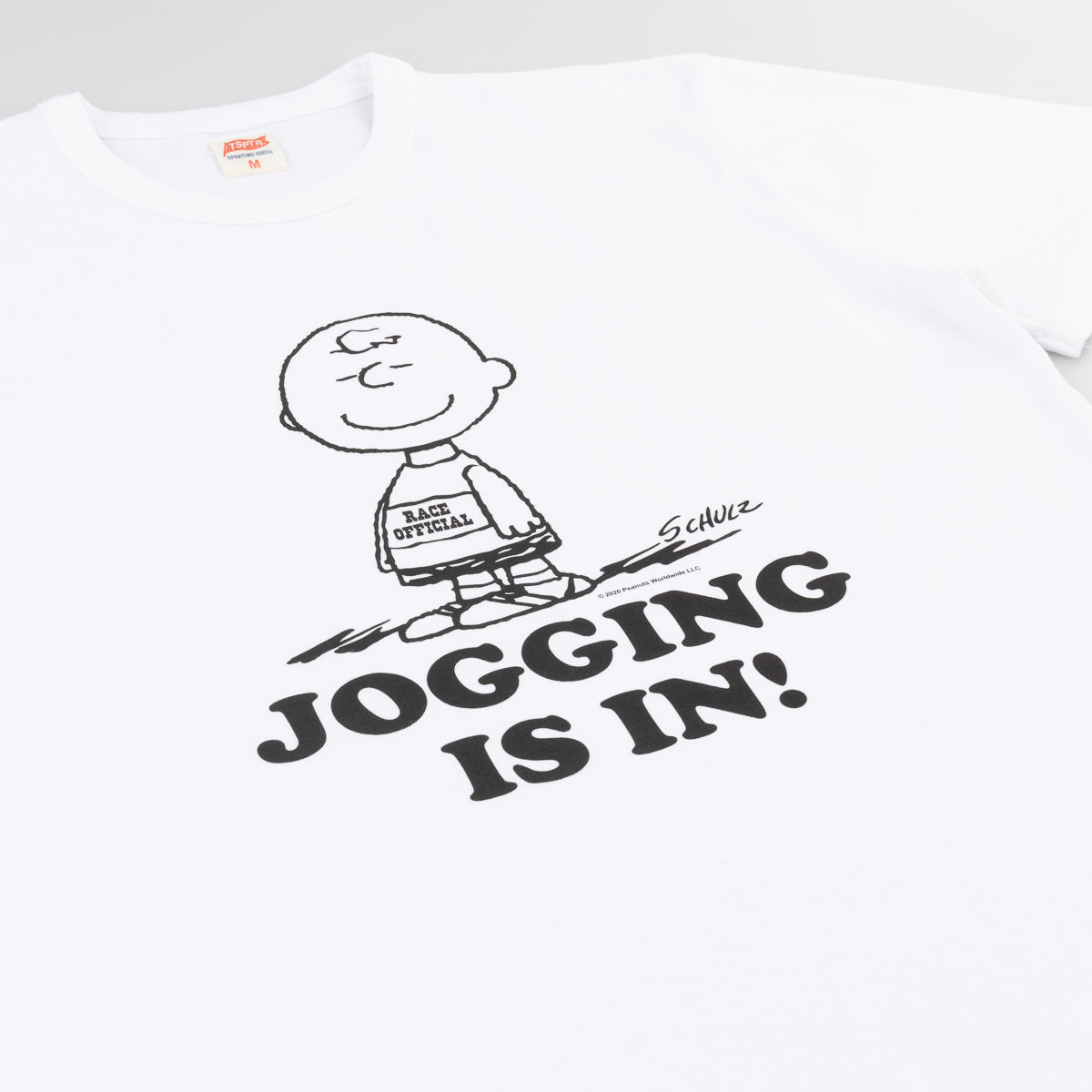 Jogging is in! Tee