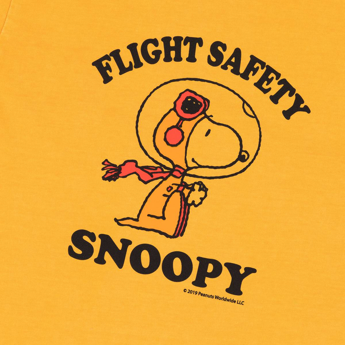 Snoopy Flight Safety Tee
