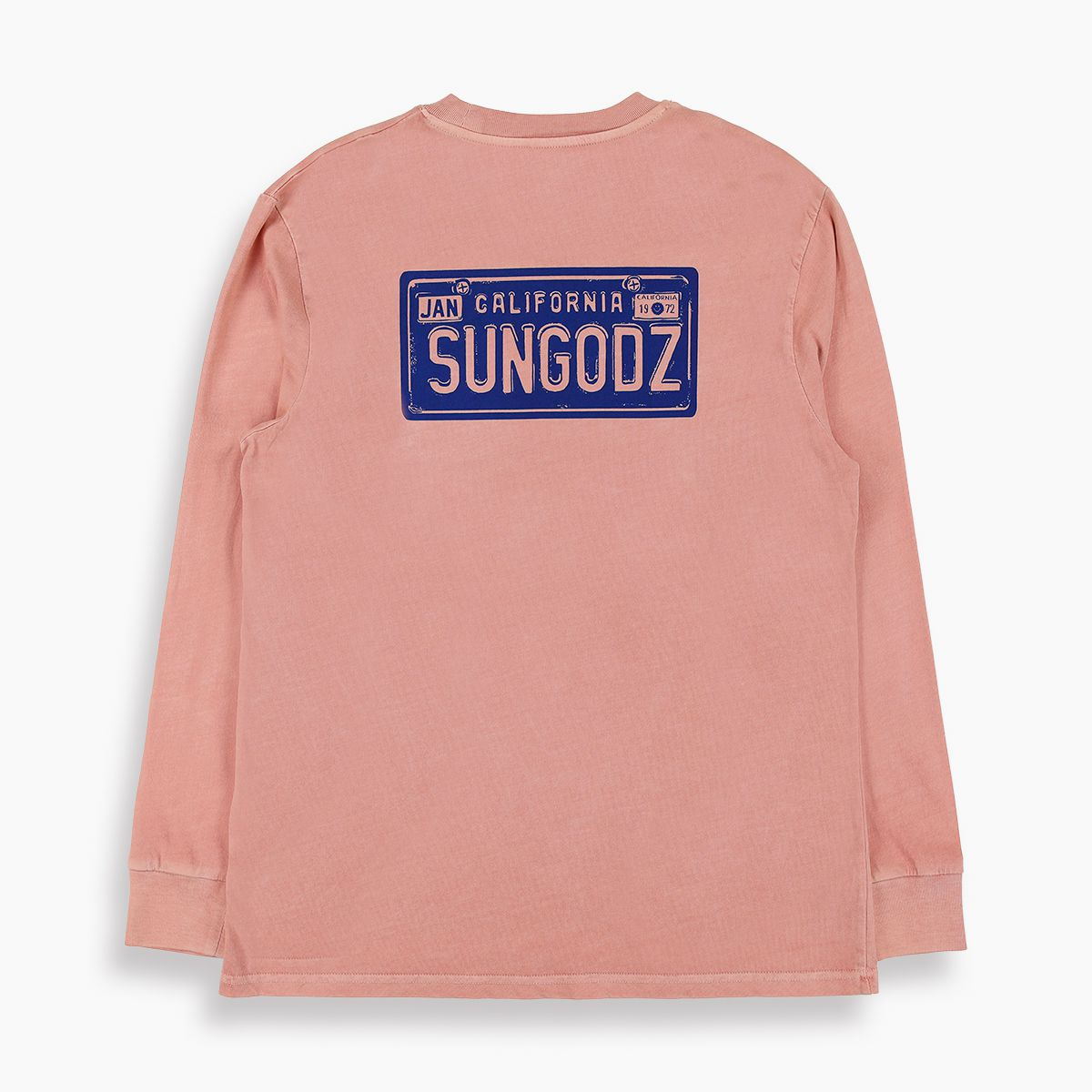 TSPTR x SUNGODZ LICENSE PLATE LS POCKET TEE