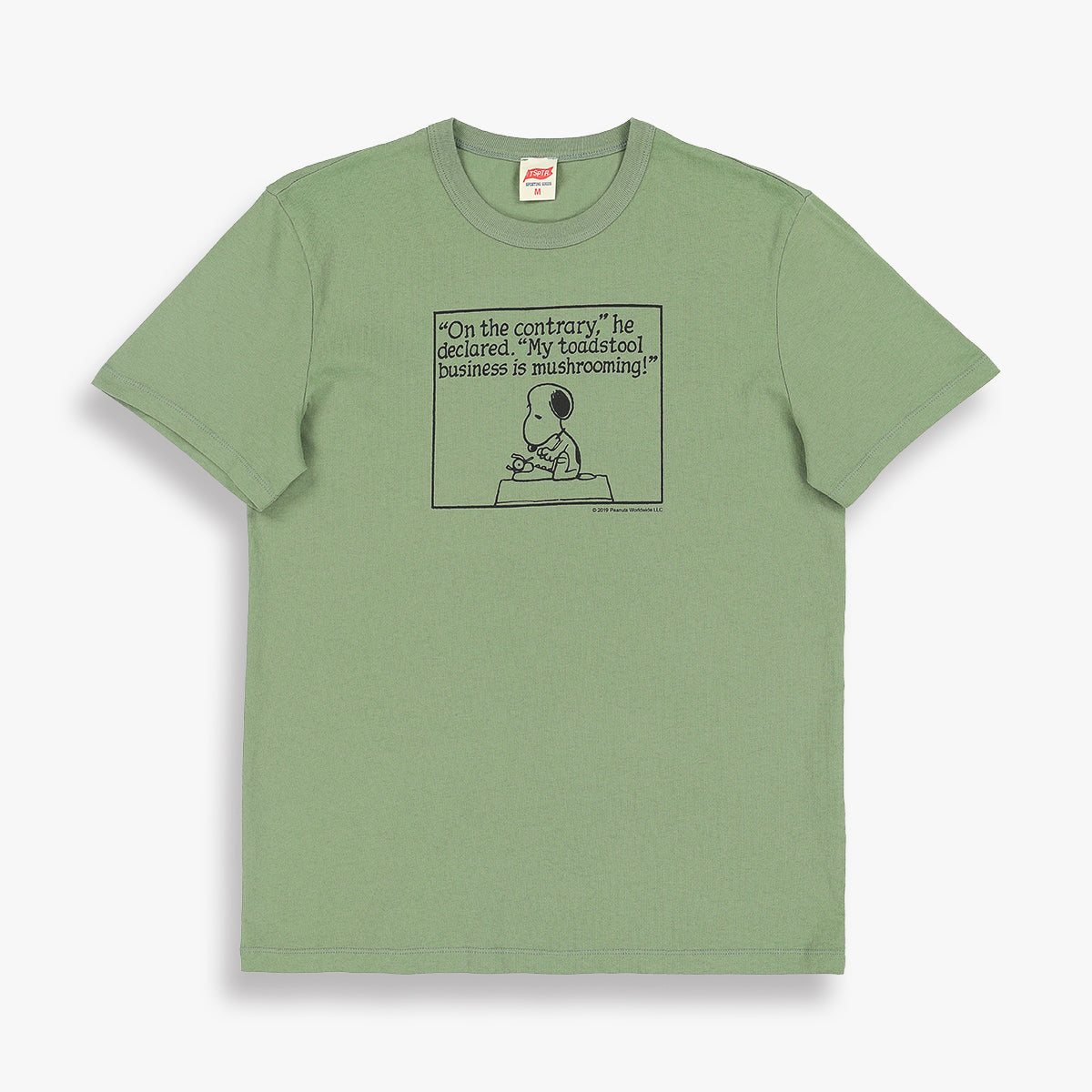 SNOOPY TOADSTOOL BUSINESS TEE