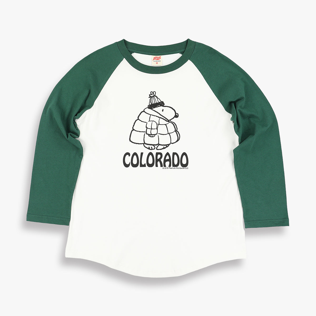 SNOOPY CO RAGLAN TEE