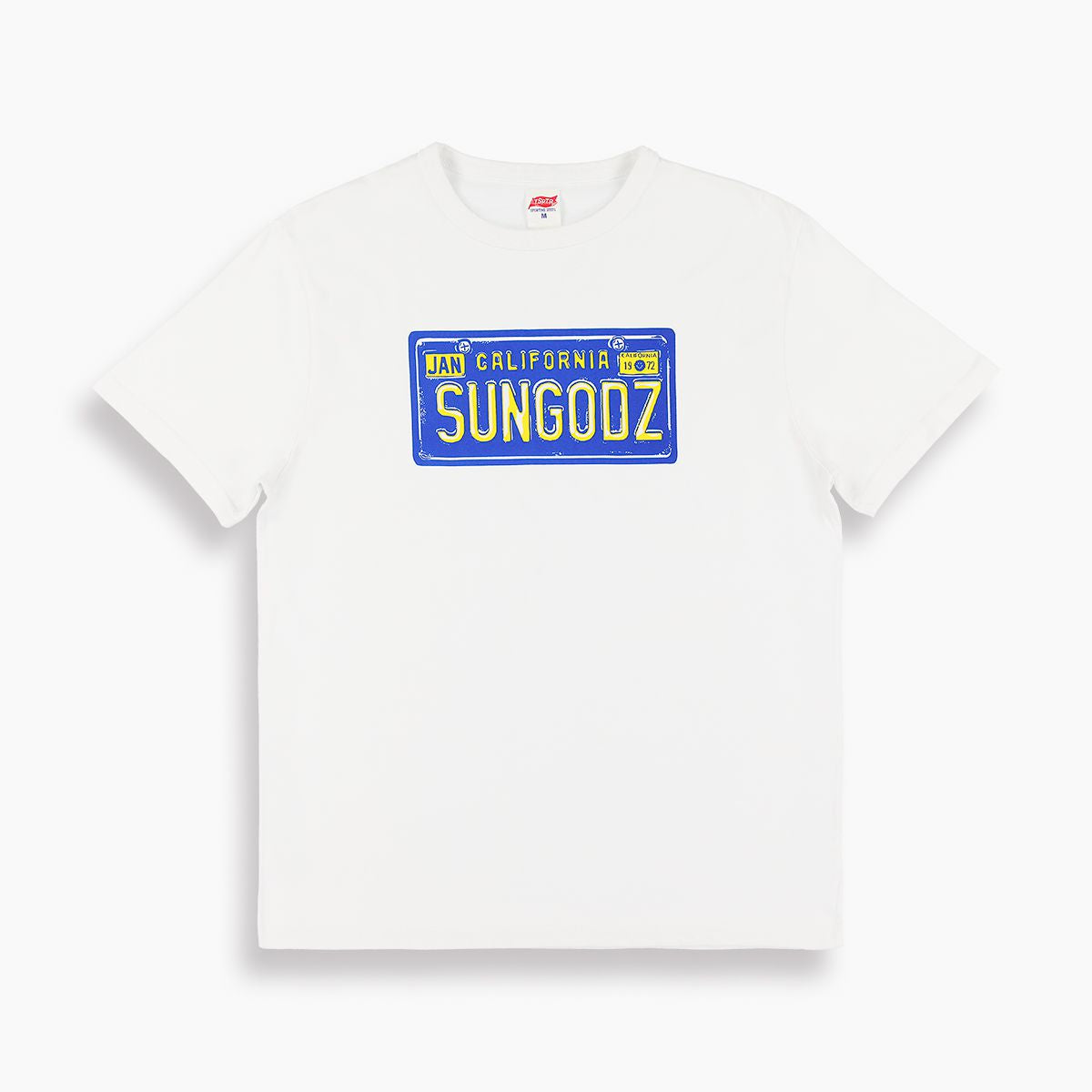 TSPTR x SUNGODZ LICENSE PLATE TEE
