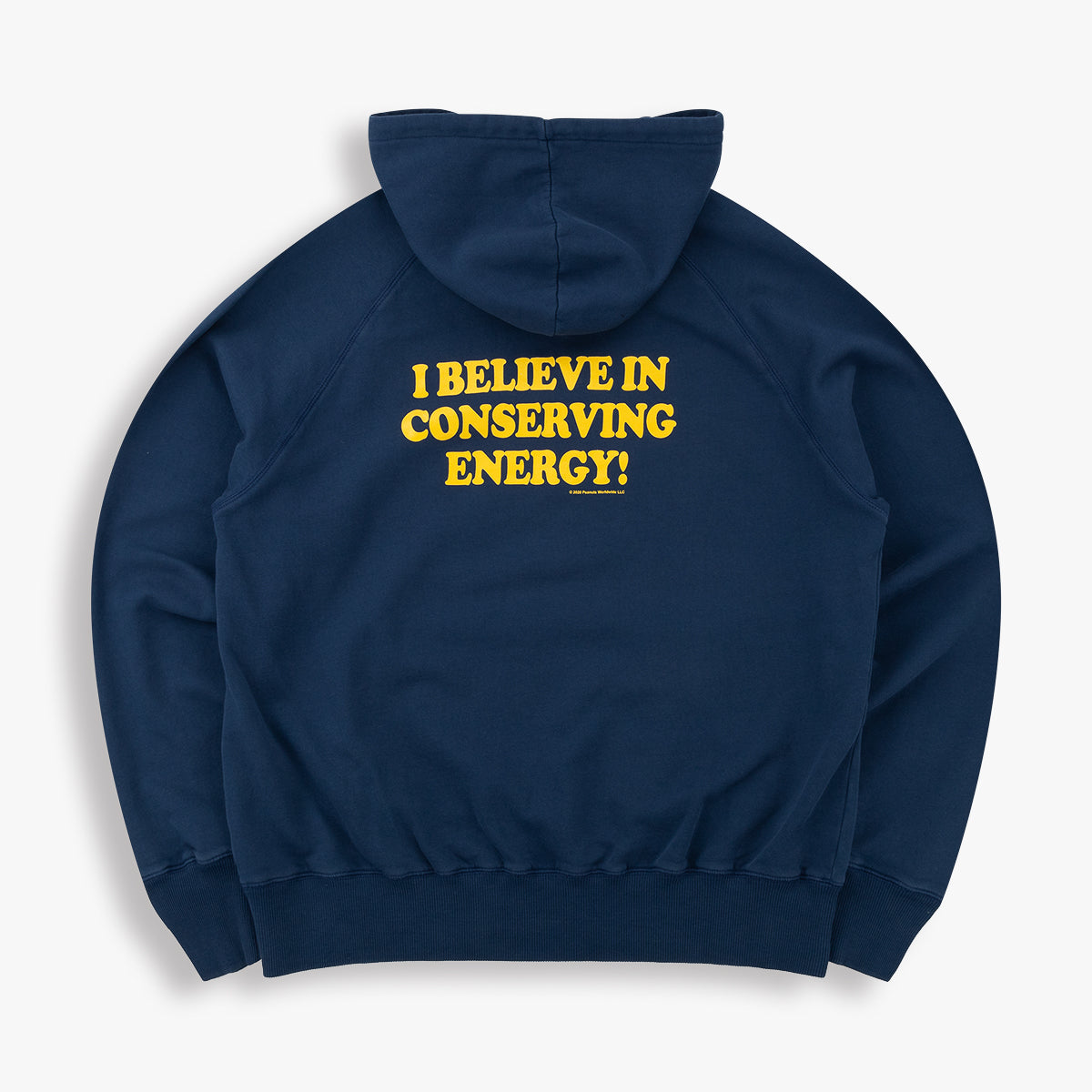 SNOOPY CONSERVE ENERGY HOODIE