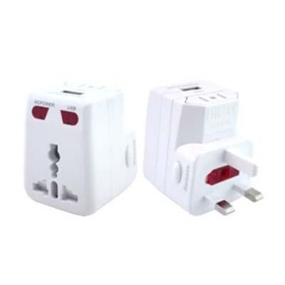 Travel Adaptor with USB Hub | Executive Door Gifts