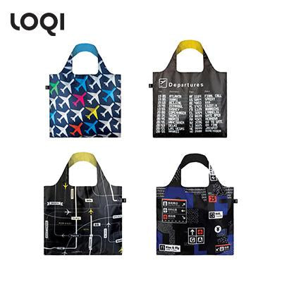 Loqi Airport Series Foldable Tote Bag