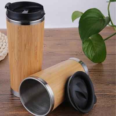 Eco Friendly Bamboo Insulated Vacuum Flask