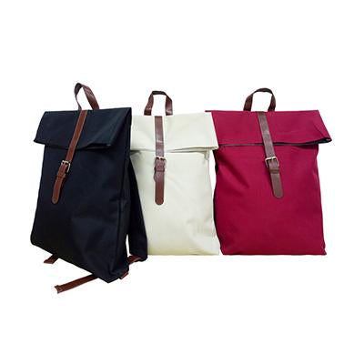 Nylon Backpack with PU Leather Strap | Executive Door Gifts