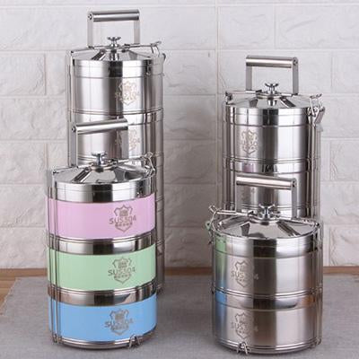 Stainless Steel Tiffin Thermal Lunch Box