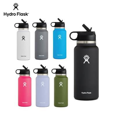 HydroFlask 32oz Wide Mouth Bottle with Straw Lid | Executive Corporate Gifts Singapore