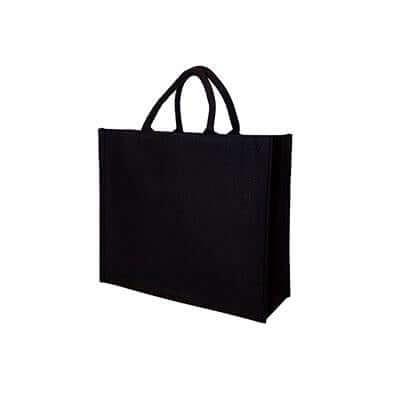 10oz Black Canvas Bag