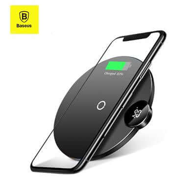 Baseus Wireless Charger with LED Digital Display | Executive Corporate Gifts Singapore