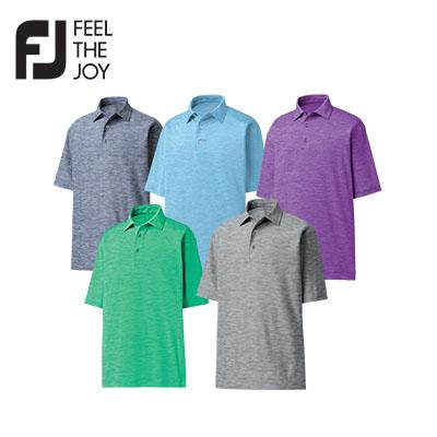 Footjoy Space Dyed Lisle Polo T-Shirt