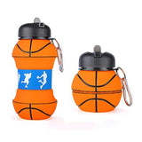 Portable Silicone Collapsible Sports Water Bottle