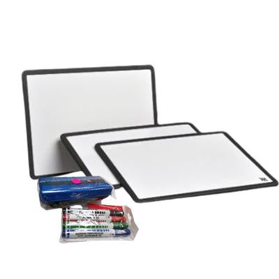 A4 Mini Whiteboard with Accessories Pack