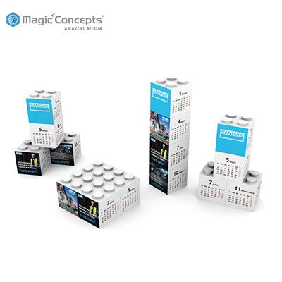 Magic Concepts Magic Building Blocks Calendar | Executive Corporate Gifts Singapore