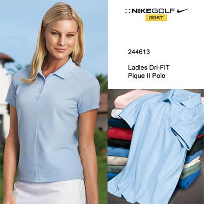 Nike Golf Ladies Dri-FIT Pique Polo Shirt - abrandz