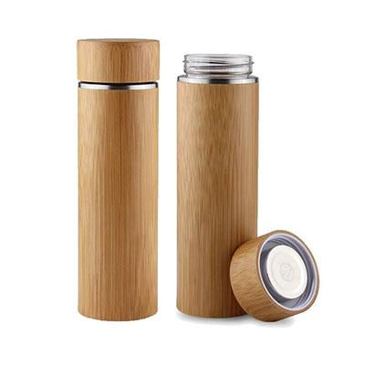 Eco Friendly BPA Free Bamboo Glass Water Bottle