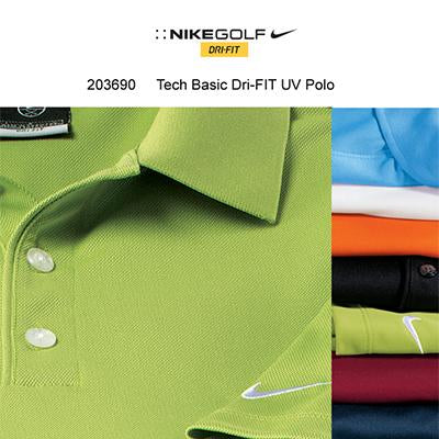 Nike Golf Tech Basic Dri-FIT UV Polo Shirt - abrandz
