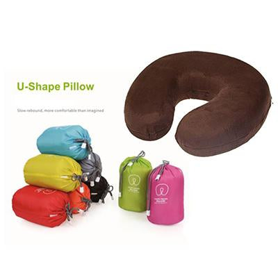 U-Shaped Memory Foam Neck Pillow | Executive Door Gifts