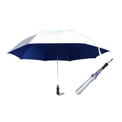 30″ 2 Fold Golf Auto Open Umbrella with UV Coating - abrandz