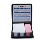Dual Notepad with Calendar Memo Holder