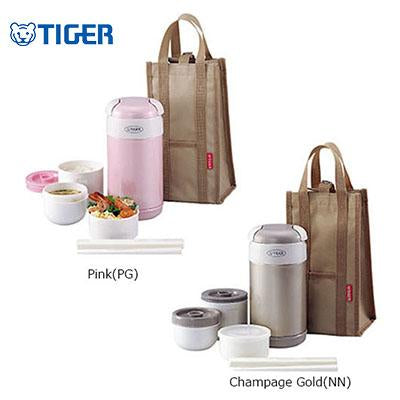 Tiger Lunch Box 3 containers with Bag LWR-A092