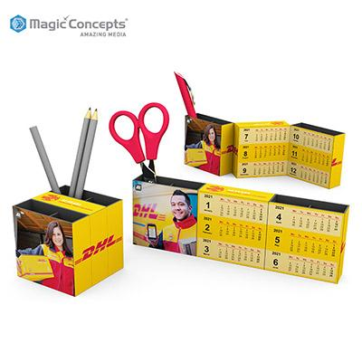 Magic Concepts Magic 3 Panel Calendar | Executive Corporate Gifts Singapore