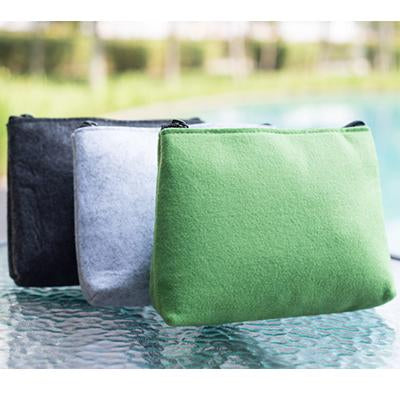 Eco Friendly Wool Felt Accessories Pouch | Executive Corporate Gifts Singapore