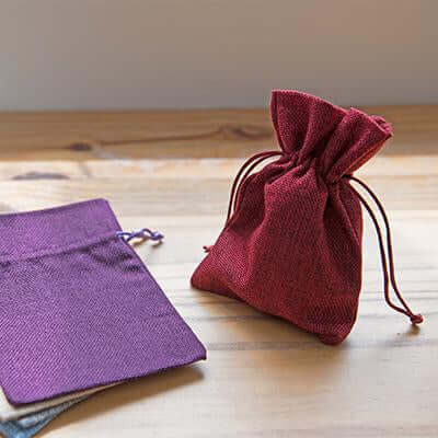 Eco Friendly Jute Accessories Pouch | Executive Corporate Gifts Singapore