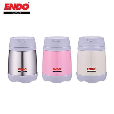 ENDO 500ml Double S/S Vacuum Food Jar