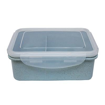 Eco Friendly Rectangle Wheat Straw Lunch Box with Compartment - abrandz