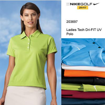 Nike Golf Ladies Tech Basic Dri-FIT UV Polo Shirt - abrandz