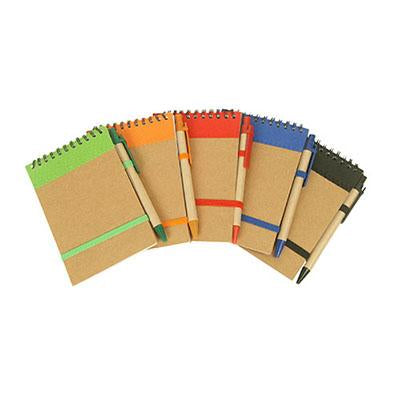 Eco Wire-O Notebook and Pen | Executive Corporate Gifts Singapore